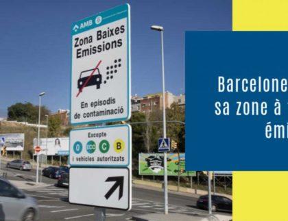 Barcelone active sa zone à faibles émissions (ZFE)
